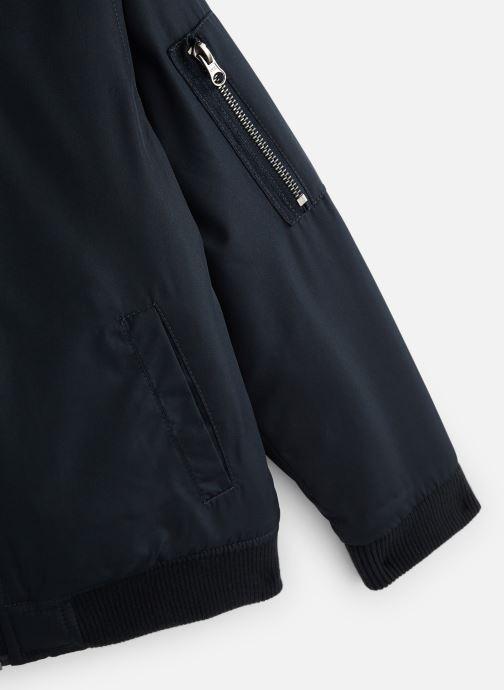 Vêtements Monoprix Kids Bomber uni Bleu vue portées chaussures