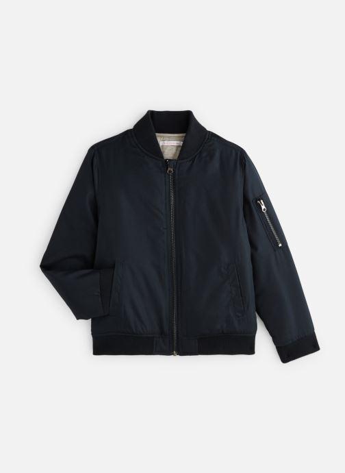 Vêtements Monoprix Kids Bomber uni Bleu vue détail/paire