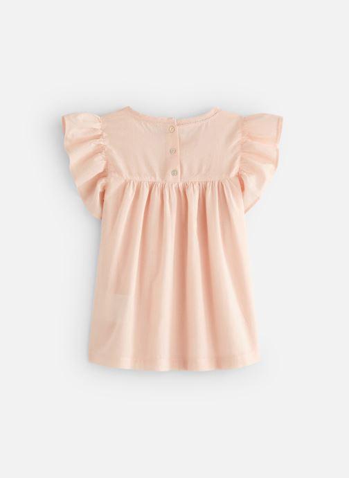 Vêtements Monoprix Kids Chemisiers Fille Rose vue bas / vue portée sac