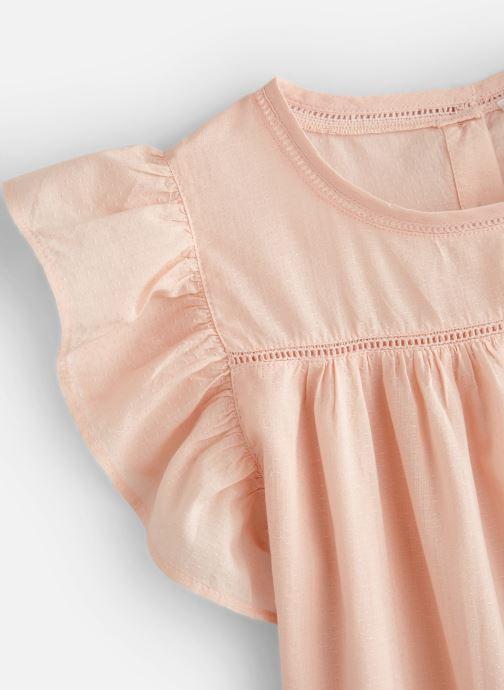 Vêtements Monoprix Kids Chemisiers Fille Rose vue portées chaussures