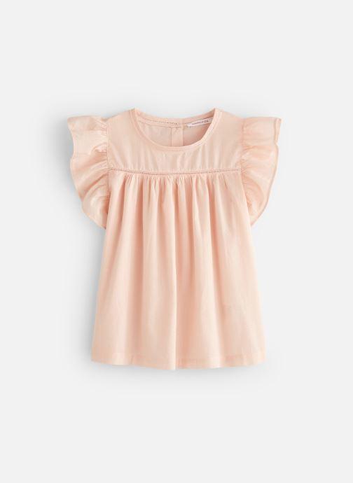Vêtements Monoprix Kids Chemisiers Fille Rose vue détail/paire