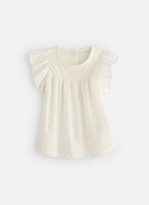 Vêtements Monoprix Kids Chemisiers Fille Blanc vue détail/paire