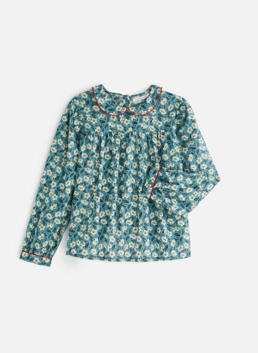 Vêtements Monoprix Kids Chemisiers Fille Ari Bleu vue détail/paire