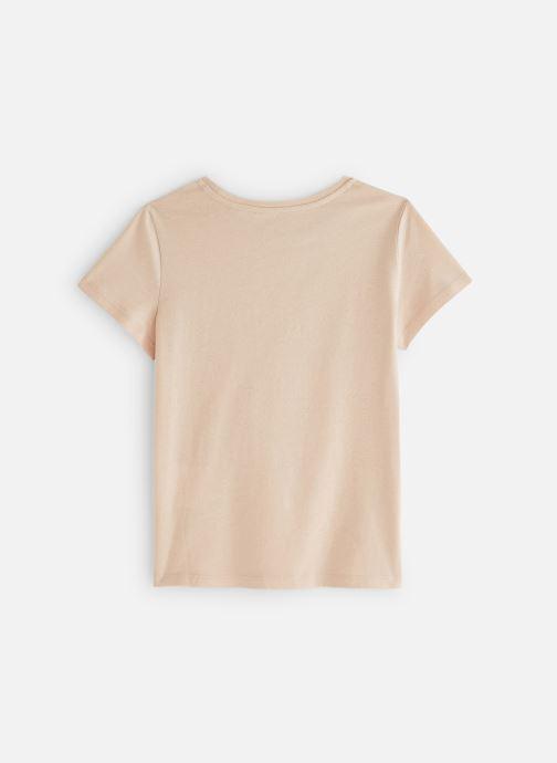 Vêtements Monoprix Kids T-Shirt manches courtes Ess Blanc vue bas / vue portée sac