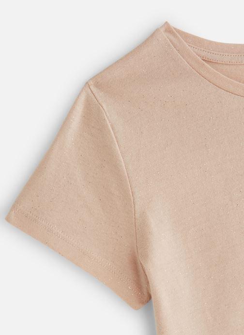 Vêtements Monoprix Kids T-Shirt manches courtes Ess Blanc vue portées chaussures
