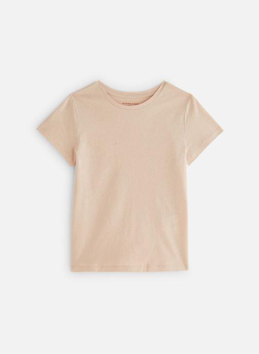 Tøj Monoprix Kids T-Shirt manches courtes Ess Hvid detaljeret billede af skoene