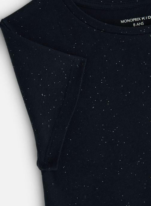 Vêtements Monoprix Kids T-Shirt manches courtes Ess Bleu vue portées chaussures