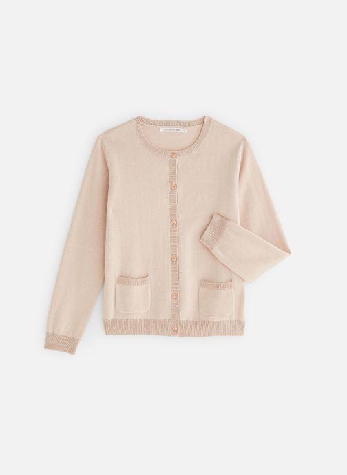 Vêtements Monoprix Kids Cardigan basique Rose vue détail/paire