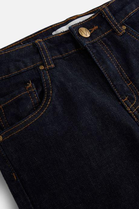 Vêtements Monoprix Kids Jean Slim Bleu vue portées chaussures