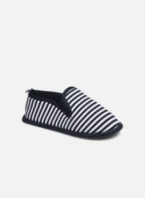 Pantofole Bambino Charentaise rayé