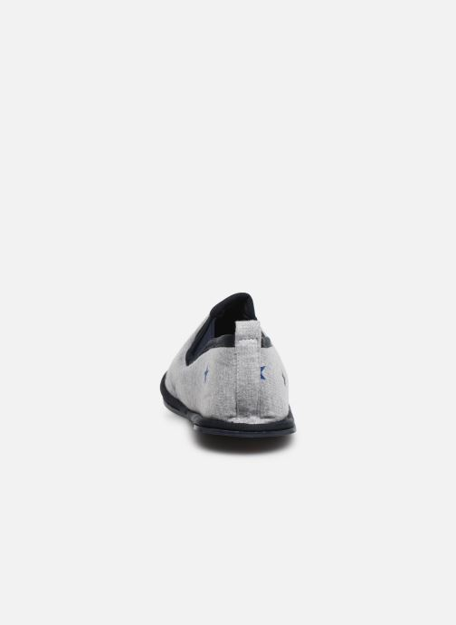 Slippers Monoprix Kids Charentaise étoile Grey view from the right