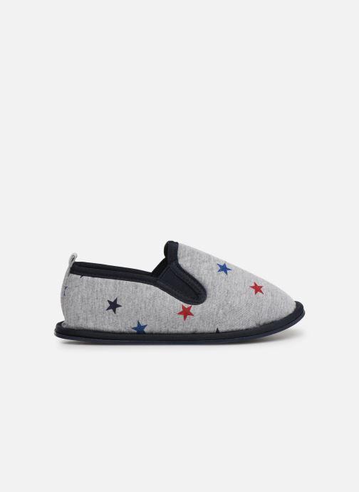 Slippers Monoprix Kids Charentaise étoile Grey back view