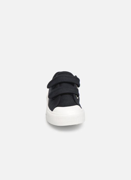 Sneaker Monoprix Kids Tennis toile Ess Kids blau schuhe getragen