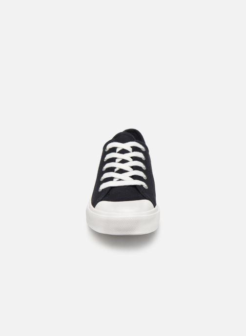 Baskets Monoprix Kids Tennis toile Ess Junior Bleu vue portées chaussures