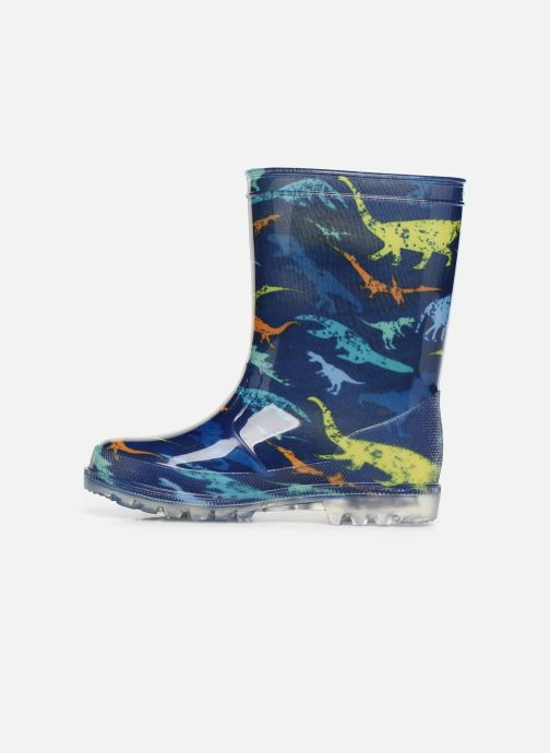 Bottes Be Only Dinosaure Flash Bleu vue face