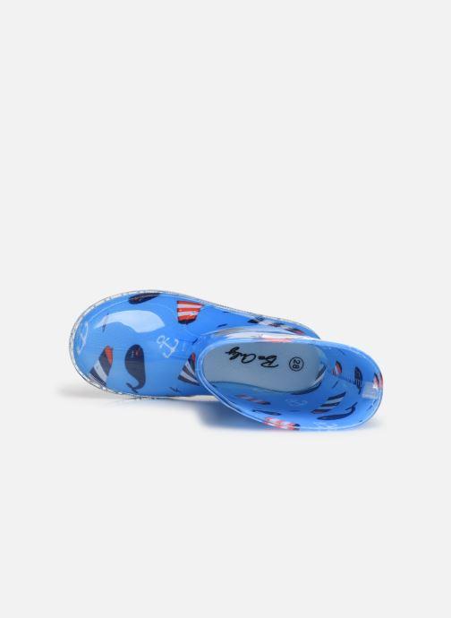 Botas Be only Baleino Flash Azul vista lateral izquierda
