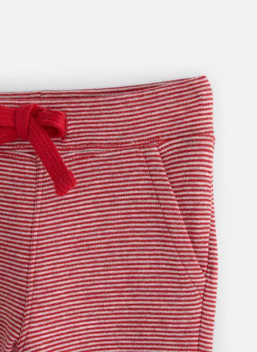Vêtements Bout'Chou Pantalon jogging Milleraies Rouge vue portées chaussures