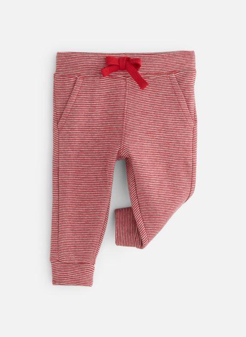 Vêtements Bout'Chou Pantalon jogging Milleraies Rouge vue détail/paire