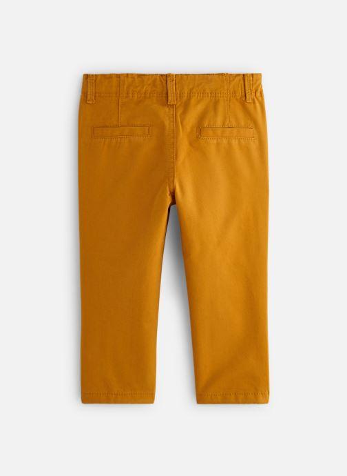 Vêtements Bout'Chou Pantalon Slack Ari Jaune vue bas / vue portée sac