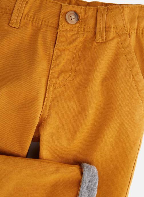 Vêtements Bout'Chou Pantalon Slack Ari Jaune vue portées chaussures