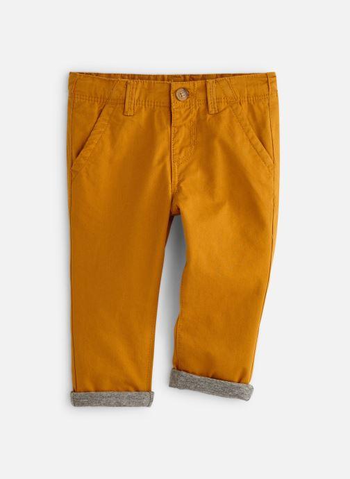 Vêtements Bout'Chou Pantalon Slack Ari Jaune vue détail/paire