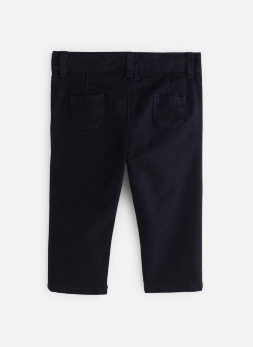 Vêtements Bout'Chou Pantalon Twill Car Bleu vue bas / vue portée sac