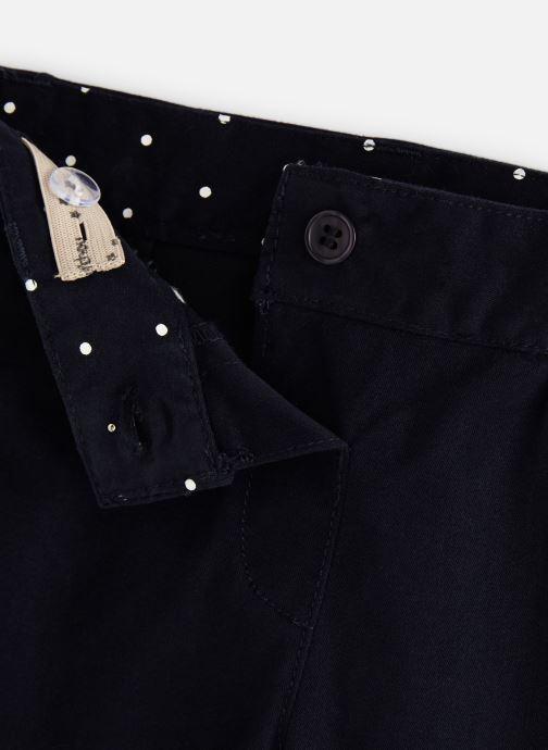 Vêtements Bout'Chou Pantalon Twill Car Bleu vue portées chaussures