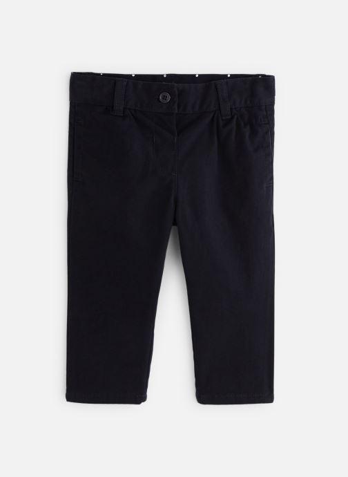 Vêtements Bout'Chou Pantalon Twill Car Bleu vue détail/paire