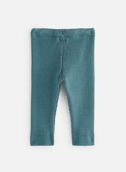 Vêtements Bout'Chou Legging tricot cotes Bleu vue bas / vue portée sac