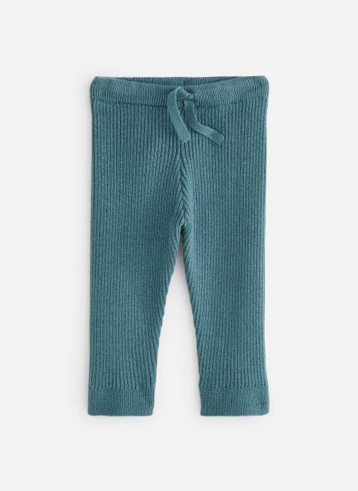 Vêtements Bout'Chou Legging tricot cotes Bleu vue détail/paire
