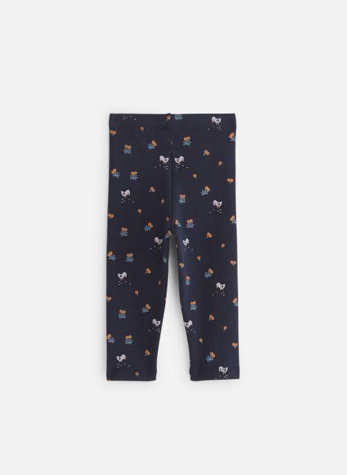 Vêtements Bout'Chou Legging thème Ari Bleu vue bas / vue portée sac