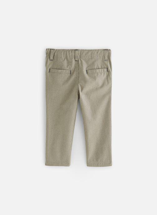 Vêtements Bout'Chou Pantalon Slack carreaux Beige vue bas / vue portée sac