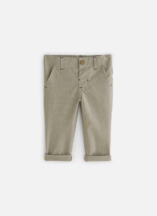 Vêtements Bout'Chou Pantalon Slack carreaux Beige vue détail/paire