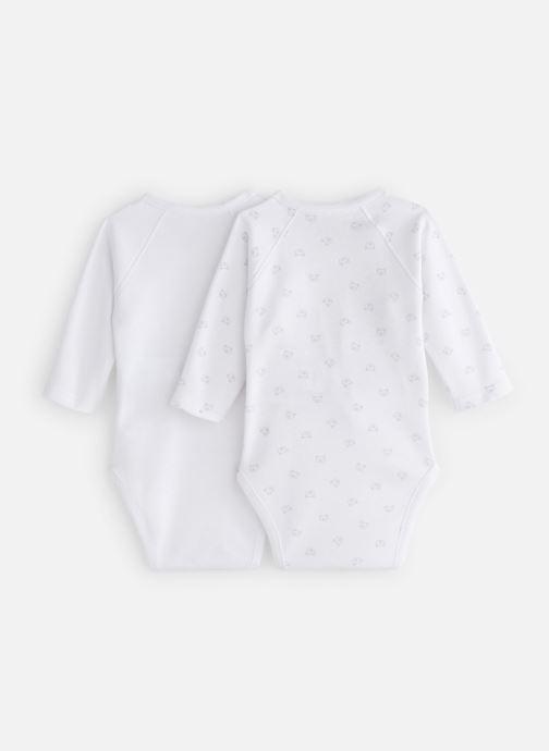 Vêtements Bout'Chou Mini Bout chou X2 Bodies int Blanc vue bas / vue portée sac