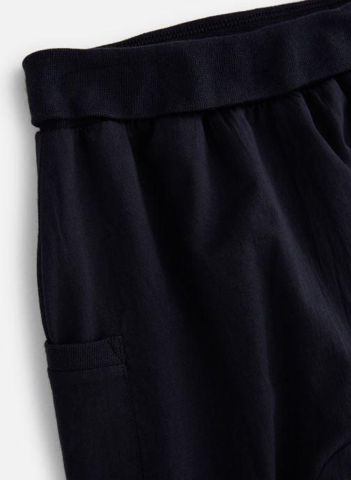 Vêtements Bout'Chou Sarouel uni Bleu vue portées chaussures