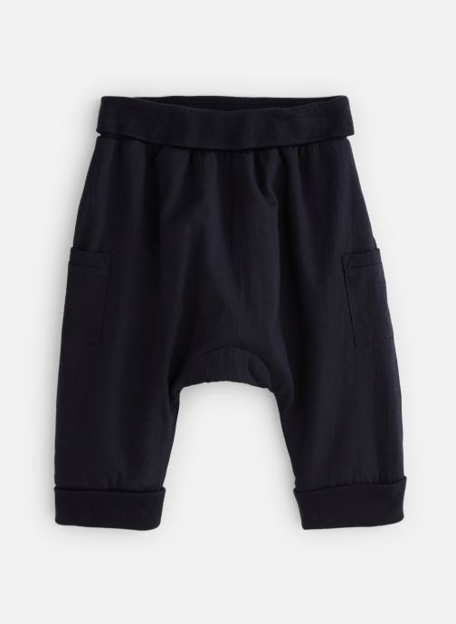 Vêtements Bout'Chou Sarouel uni Bleu vue détail/paire