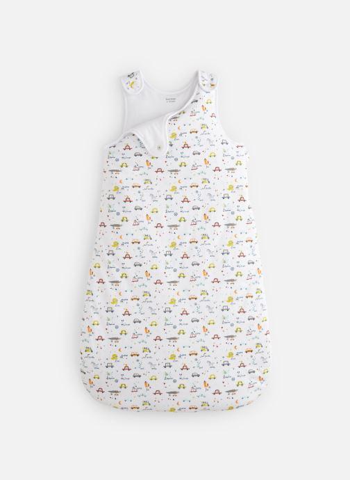 Vêtements Bout'Chou Gigoteuse Bout chou 6/18M ESS Blanc vue détail/paire