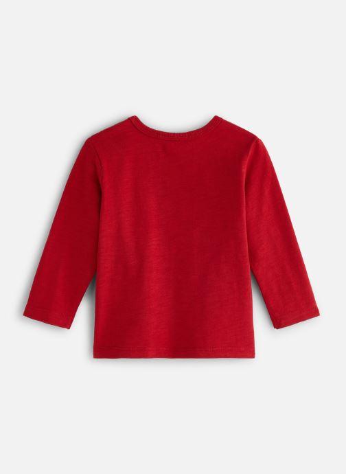 Vêtements Bout'Chou T-shirt patch Renard Rouge vue bas / vue portée sac