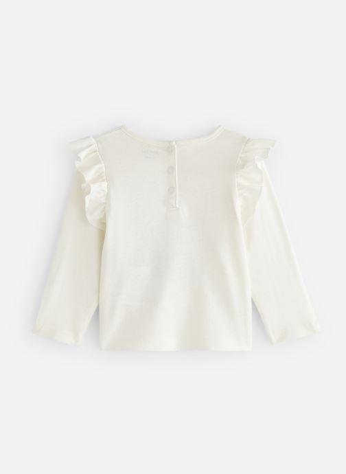 Vêtements Bout'Chou T-shirt  manches longues Ari Beige vue bas / vue portée sac