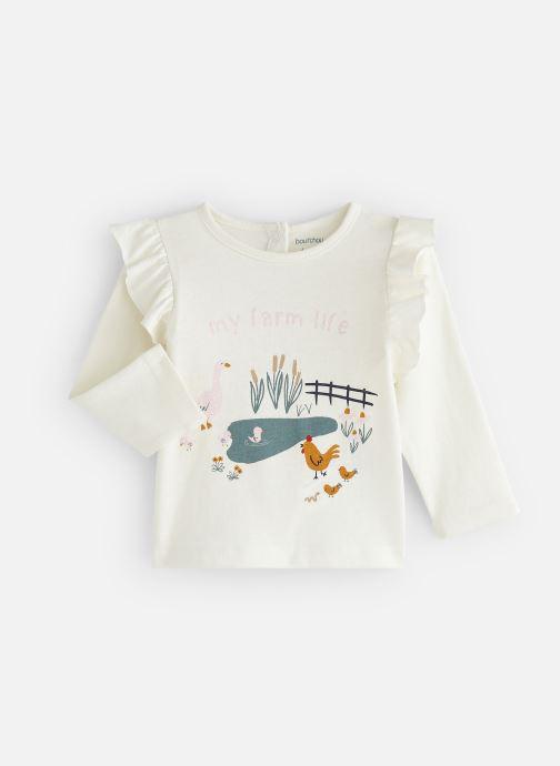 Kleding Bout'Chou T-shirt  manches longues Ari Beige detail