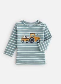 T-shirt manches longues rayé print