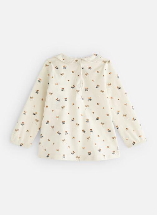 Vêtements Bout'Chou T-shirt  manches longues Jsey Beige vue bas / vue portée sac