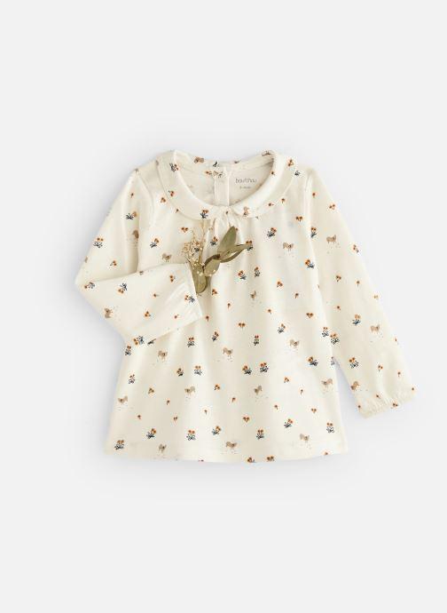 Vêtements Bout'Chou T-shirt  manches longues Jsey Beige vue détail/paire