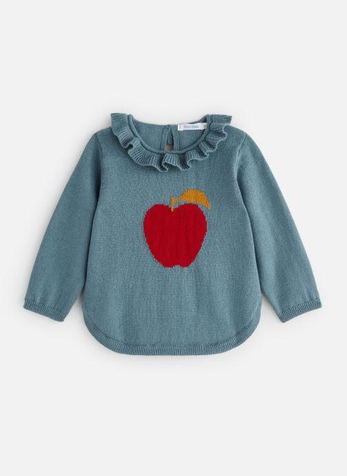 Vêtements Bout'Chou Pull Pomme Multicolore vue détail/paire