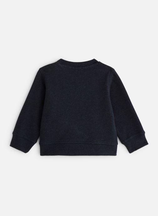 Vêtements Bout'Chou Sweat Chiens Bleu vue bas / vue portée sac