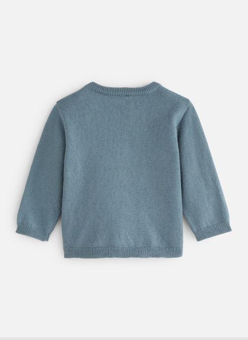 Vêtements Bout'Chou Pull Tracteur Bleu vue bas / vue portée sac