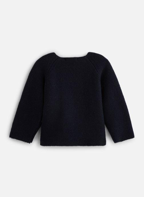 Vêtements Bout'Chou Cardigan pt mousse ESS Bleu vue bas / vue portée sac
