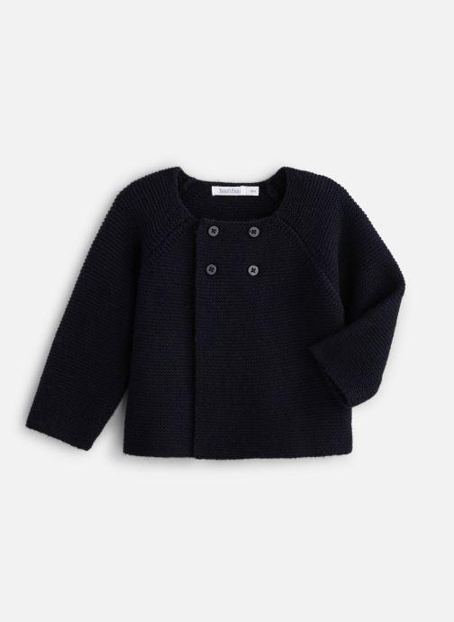 Vêtements Bout'Chou Cardigan pt mousse ESS Bleu vue détail/paire