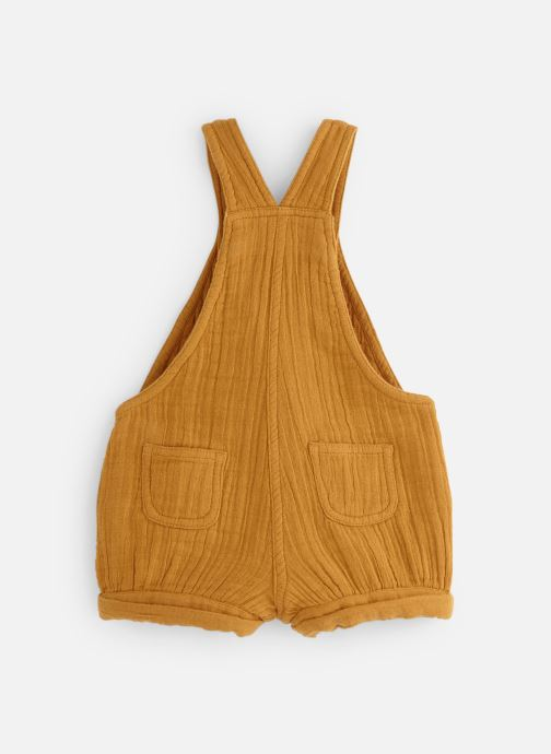 Vêtements Bout'Chou Salopette courte Jaune vue bas / vue portée sac