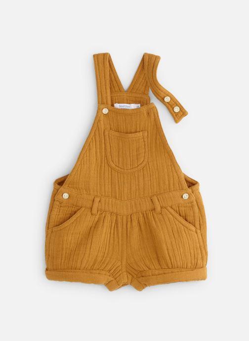 Vêtements Bout'Chou Salopette courte Jaune vue détail/paire